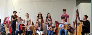 Member of the MGL Trad Orchestra with Cormac De Barra